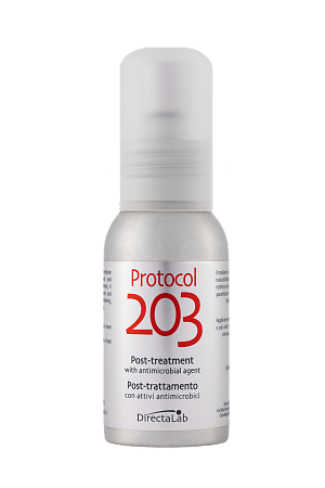 Protocol 203 Post-treatment with antimicrobial agent